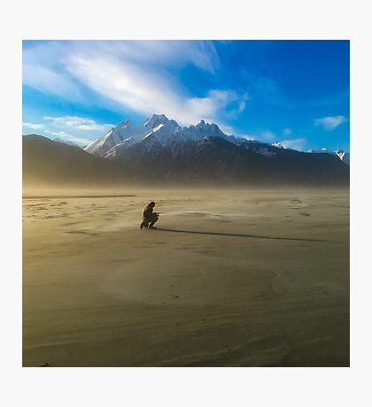 Windblown in Alaska Photographic Print