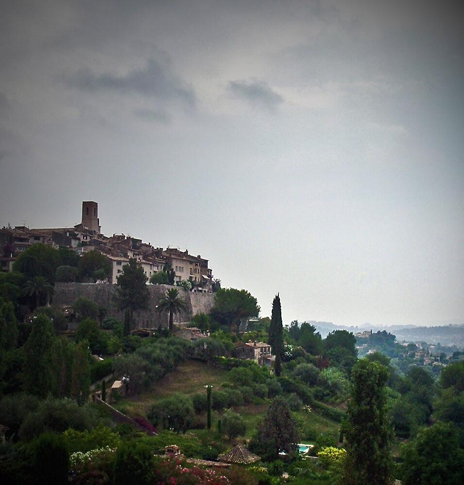 Village on a Hill by Erika Benoit