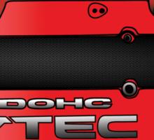 Honda H22 Valve Cover - Red Sticker