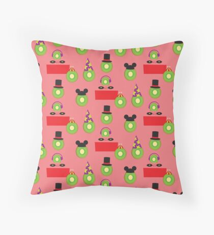 Ain't No Party Like A Kiwi Party (Pattern) Throw Pillow