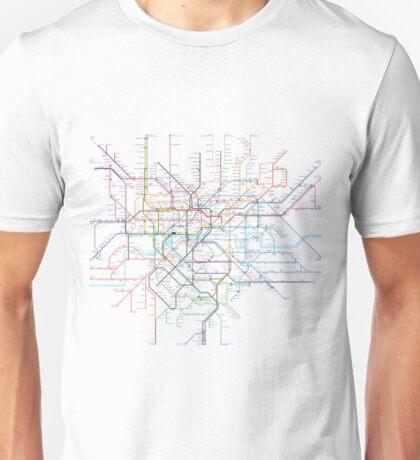 London Rail & Tube Unisex T-Shirt