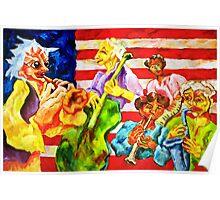 AMERICAN JAZZ Poster