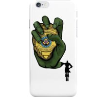 The Long Arm of the LAW!!!! iPhone Case/Skin