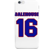 National baseball player Denny Galehouse jersey 16 iPhone Case/Skin