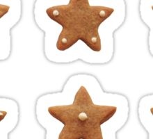 Gingerbread stars Sticker