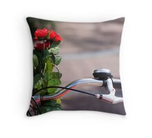 Bike accessory Throw Pillow