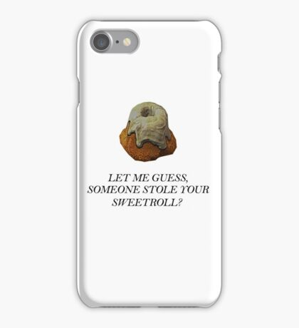 Skyrim - Sweetroll iPhone Case/Skin