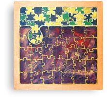 PUZZLE PIECE #15 Canvas Print