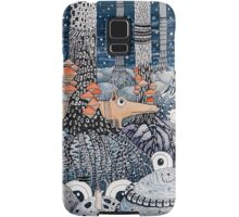 First snow in the Forest Samsung Galaxy Case/Skin