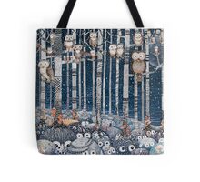 First snow in the Forest Tote Bag