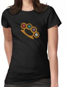 Brass Knuckles & Flowers Womens Fitted T-Shirt