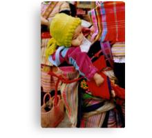 Flower Baby, Viêt Nam Canvas Print