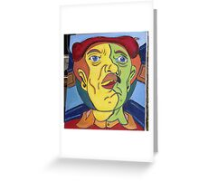mister wow Greeting Card