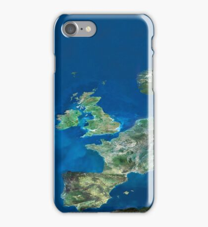 Satellite Photo of Europe iPhone Case/Skin