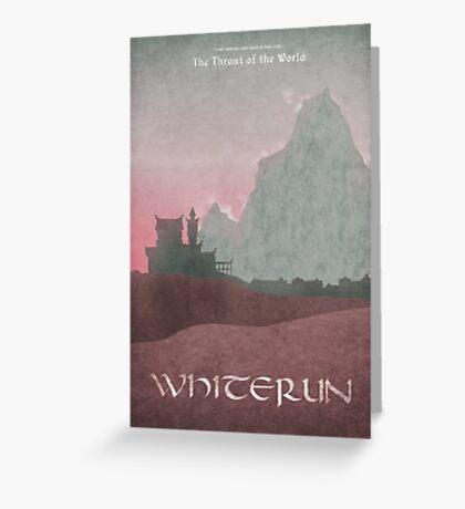 Skyrim - Whiterun Greeting Card