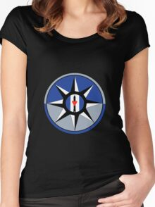 Love and Rockets Women's Fitted Scoop T-Shirt
