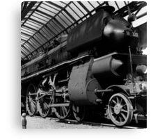 old locomotive Canvas Print