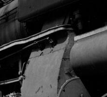 old locomotive Sticker