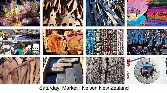 Saturday Market by Mark Williamson