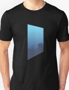 Glitch Homes Wallpaper Sea left T-Shirt