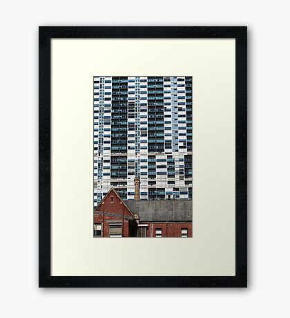 In Contrast Framed Print