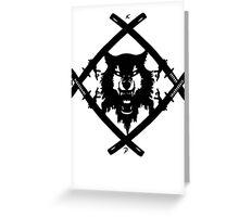 X. Wulf Greeting Card