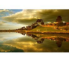 Rippleside Reflected Photographic Print