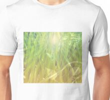 Abstract grass background Unisex T-Shirt