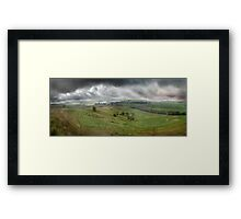 Wind and Earth Framed Print