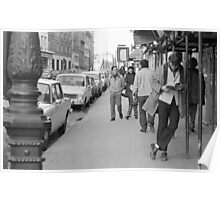 Collector, On the Way to M.Cartier Bresson Paris 1975 5 (n&b)(t) by Olao-Olavia par Okaio Création Poster