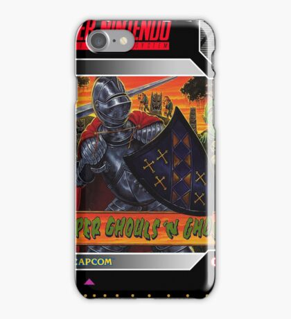 Super Ghouls 'N Ghosts Super Nintendo Collection iPhone Case/Skin