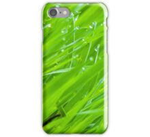 Fresh Green Grass 2 iPhone Case/Skin