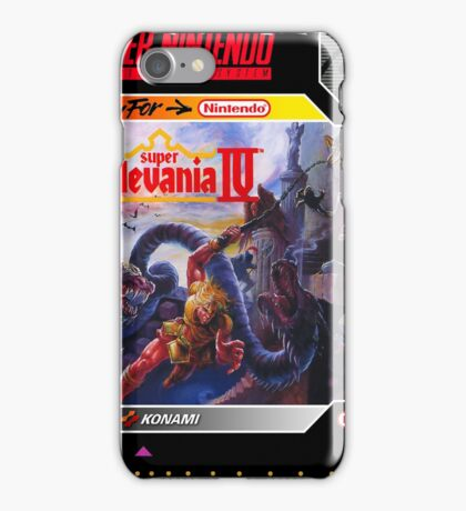 Super Castlevania IV Super Nintendo Collection iPhone Case/Skin
