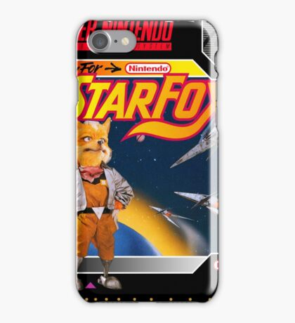 Starfox Super Nintendo Collection iPhone Case/Skin