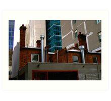 Juxtaposition : Contemporary Melbourne Architecture Art Print