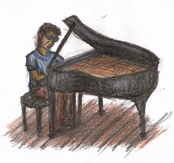 The Pianist by Mathew Reed