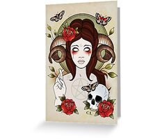 Pagan Goddess Greeting Card