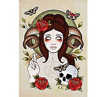 Pagan Goddess Photographic Print