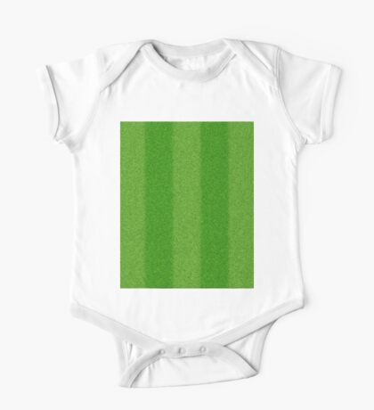 Football grass texture One Piece - Short Sleeve