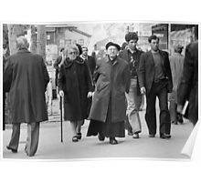 Collector, On the Way to M.Cartier Bresson Paris 1975 7 (n&b)(t) by Olao-Olavia par Okaio Création Poster