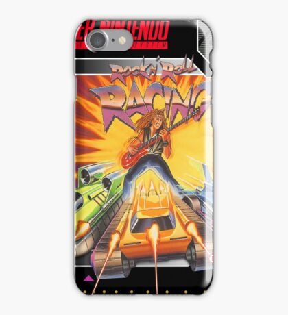 Rock & Roll Racing Super Nintendo Collection iPhone Case/Skin