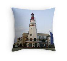 The Lighthouse, Subic Freeport Throw Pillow