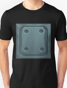 Glitch Homes Wallpaper spaceship swatch T-Shirt