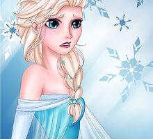 Frozen - Elsa by kittieshade