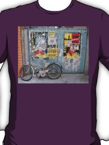 Granville, France 2012 - Motorised Bicycle Parked T-Shirt