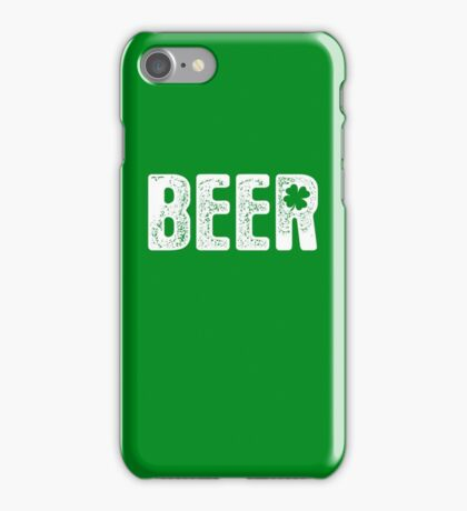 St Patty's Beer iPhone Case/Skin