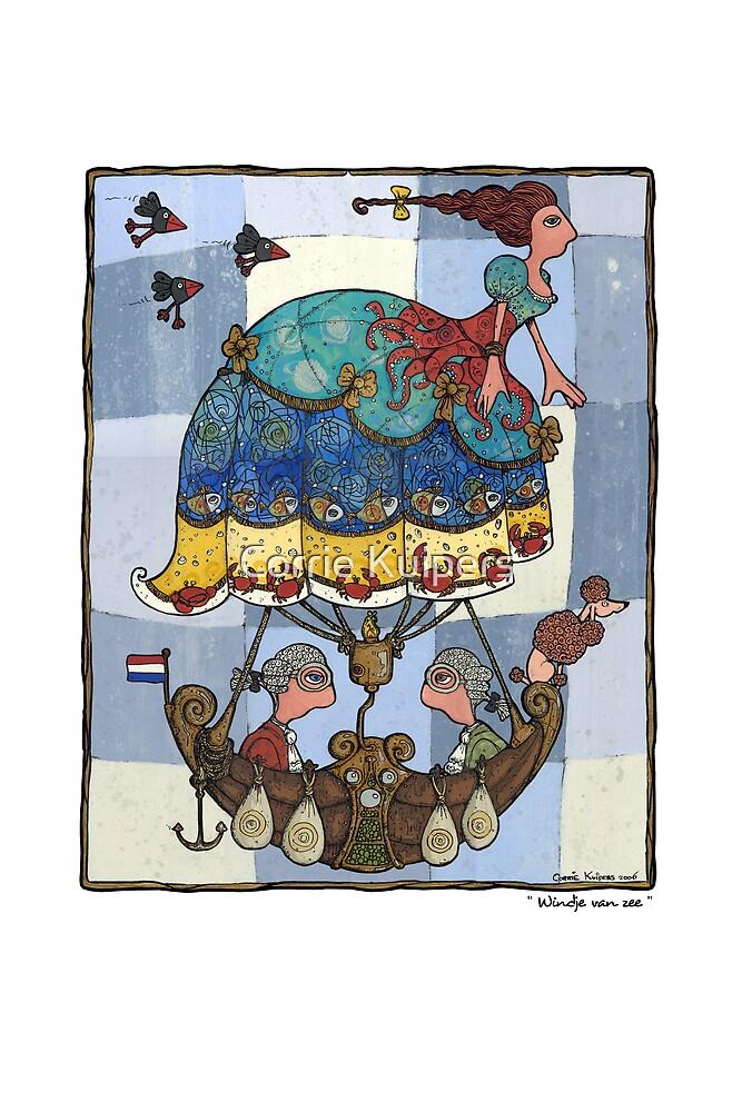 Windje van zee by Corrie Kuipers