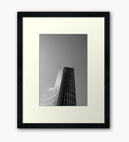 Looking Up v11 - Melbourne Central Framed Print