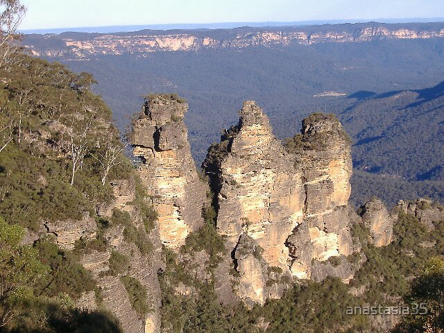 the 3 sisters blue mountains nsw by anastasia35