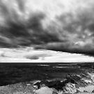 Blackened - Warrnambool Victoria Australia by Norman Repacholi